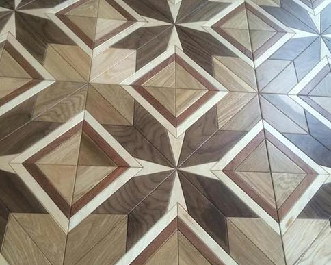 胡桃桦木实木复合地板应用