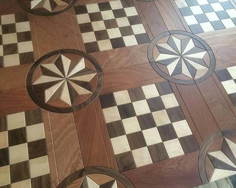 太阳花实木复合地板应用