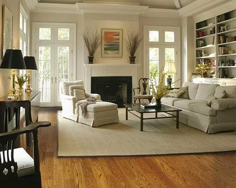 橡木实木复合地板应用