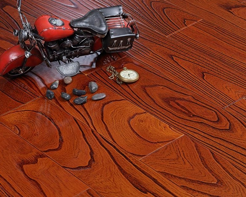 楝木实木复合地板应用
