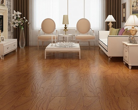 榆木实木复合地板应用