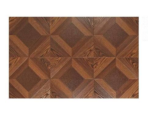 棕色皮纹艺术地板