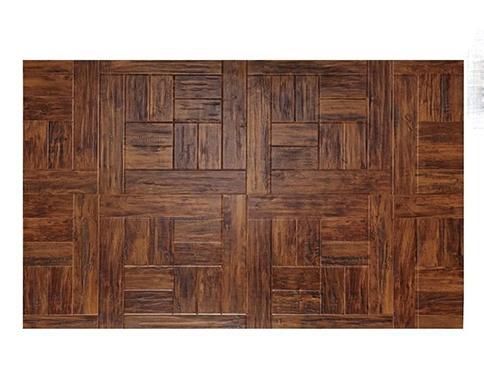 咖色百木汇艺术地板
